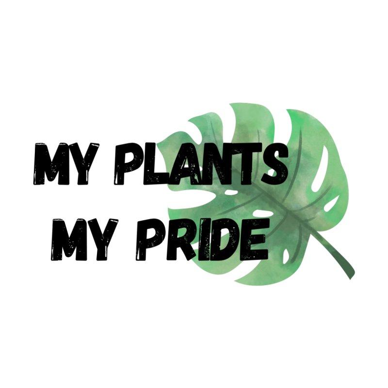 My Plants My Pride Men's V-Neck by Plantophiles's Shop