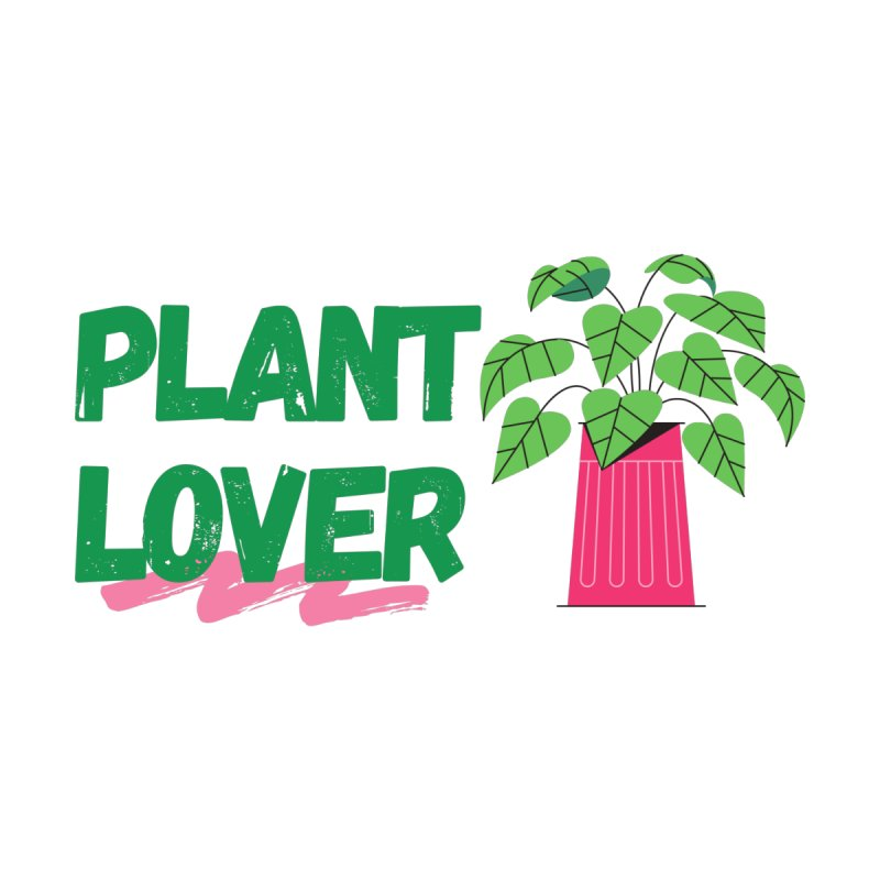 PLANT LOVER Men's V-Neck by Plantophiles's Shop