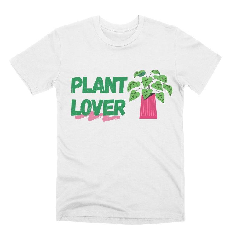 PLANT LOVER Men's T-Shirt by Plantophiles's Shop