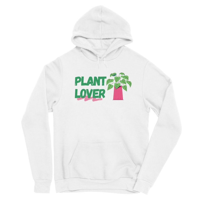 PLANT LOVER Men's Pullover Hoody by Plantophiles's Shop