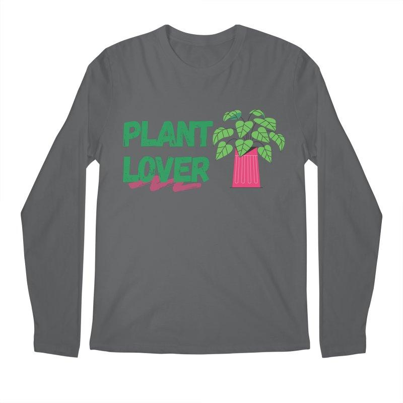 PLANT LOVER Men's Longsleeve T-Shirt by Plantophiles's Shop