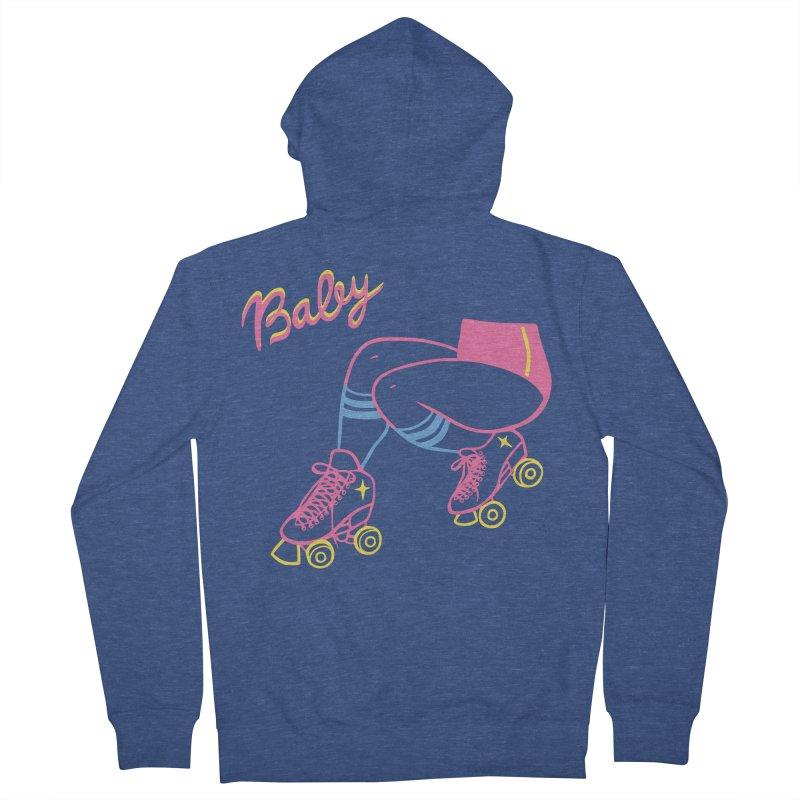 Baby Roller Men's Zip-Up Hoody by looks by primcess