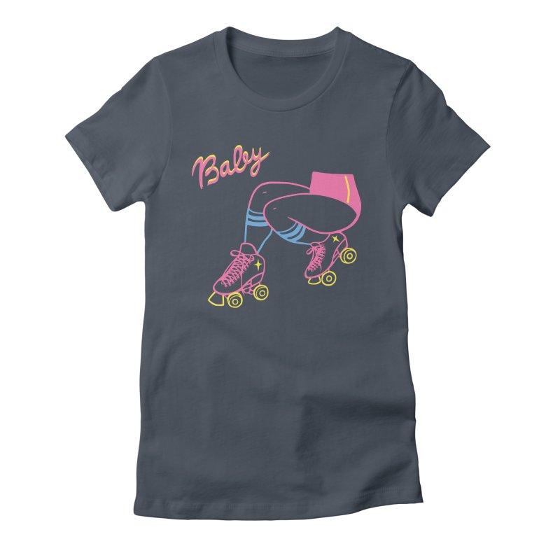 Baby Roller Women's T-Shirt by looks by primcess