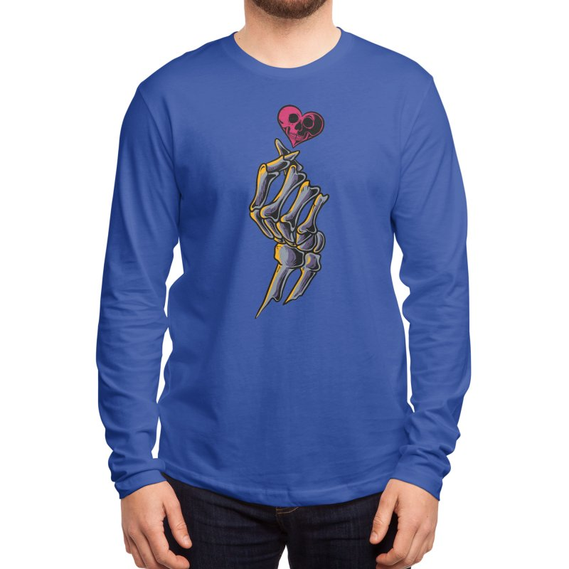 Korean Finger Heart Men's Longsleeve T-Shirt by plasticghost's Artist Shop