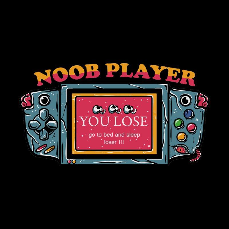 Noob player Men's T-Shirt by plasticghost's Artist Shop
