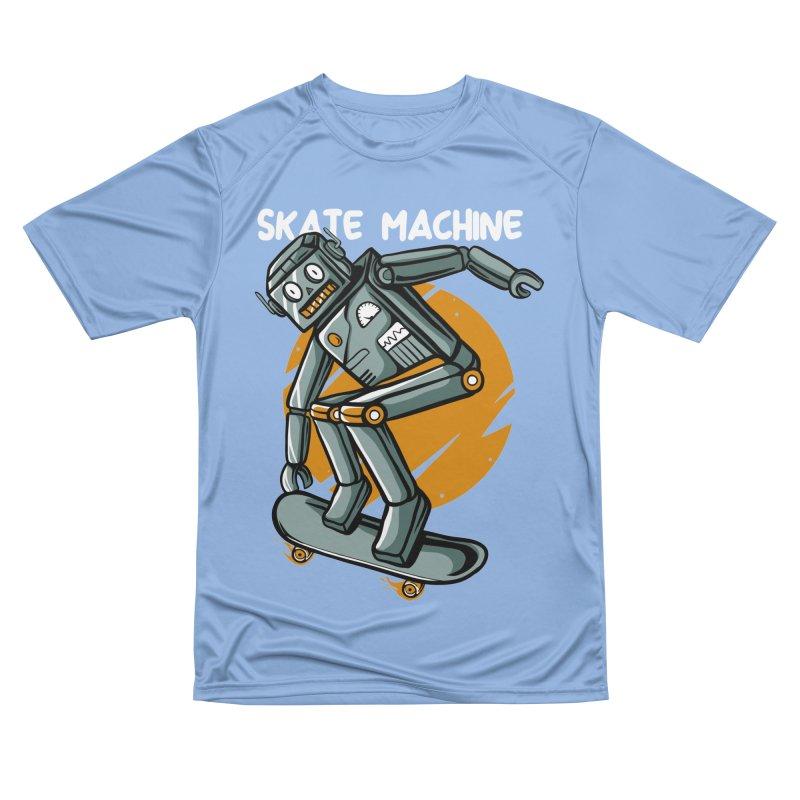 Skate machine Men's T-Shirt by plasticghost's Artist Shop