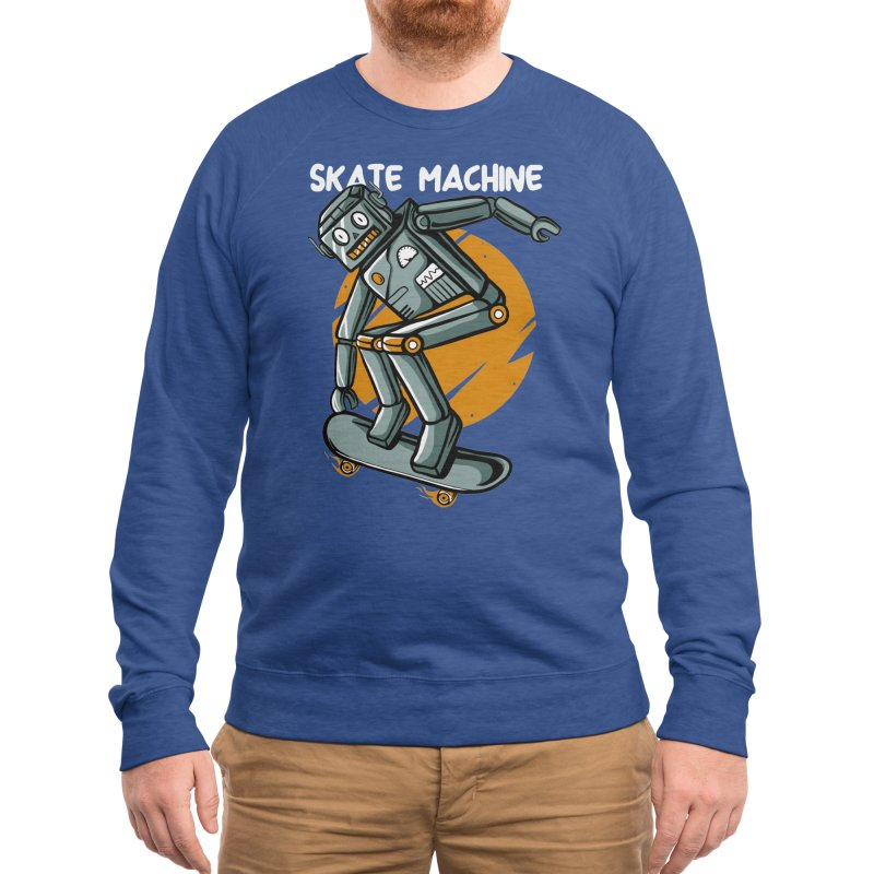 Skate machine Men's Sweatshirt by plasticghost's Artist Shop