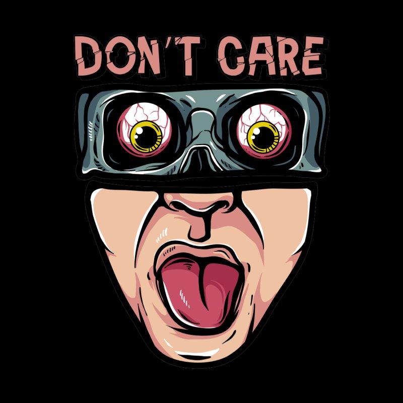 I don't care Men's T-Shirt by plasticghost's Artist Shop