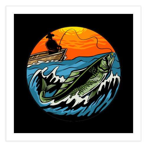 image for sunset fishing