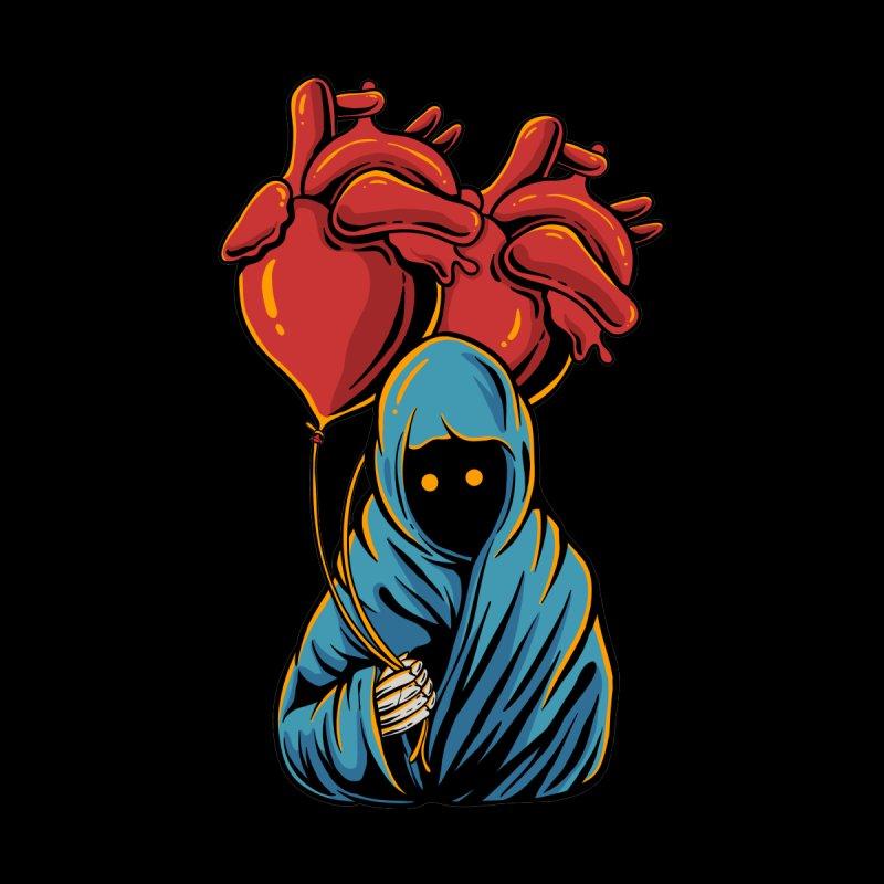 Heart balloon Men's T-Shirt by plasticghost's Artist Shop