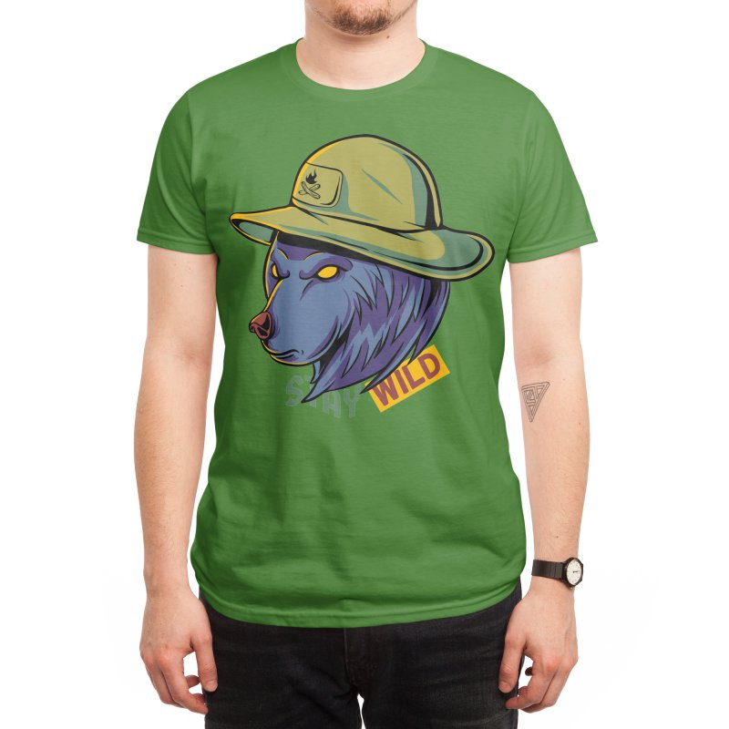 Stay wild Men's T-Shirt by plasticghost's Artist Shop