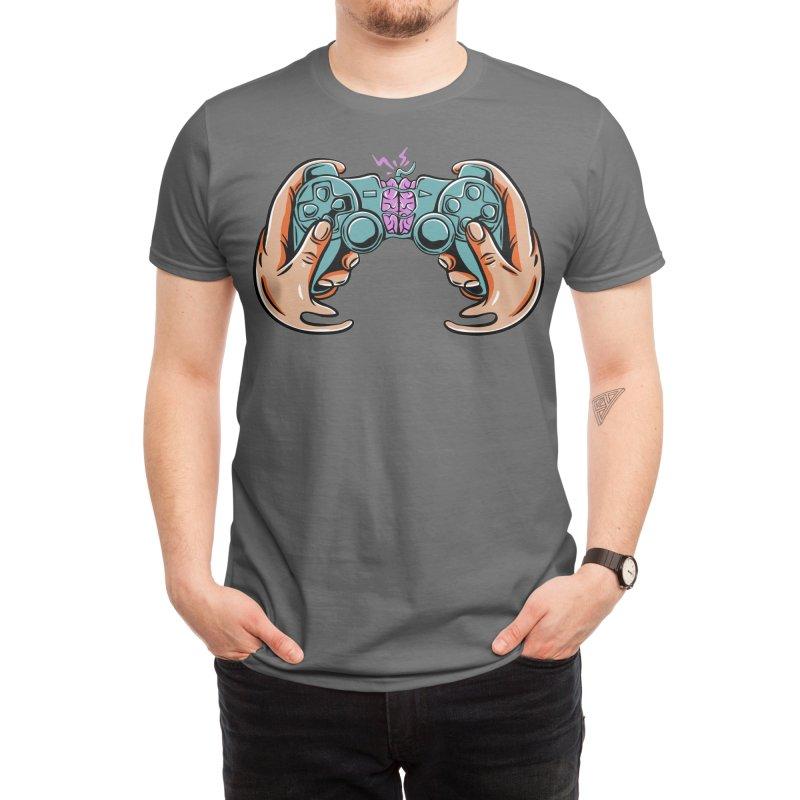 game thinks Men's T-Shirt by plasticghost's Artist Shop