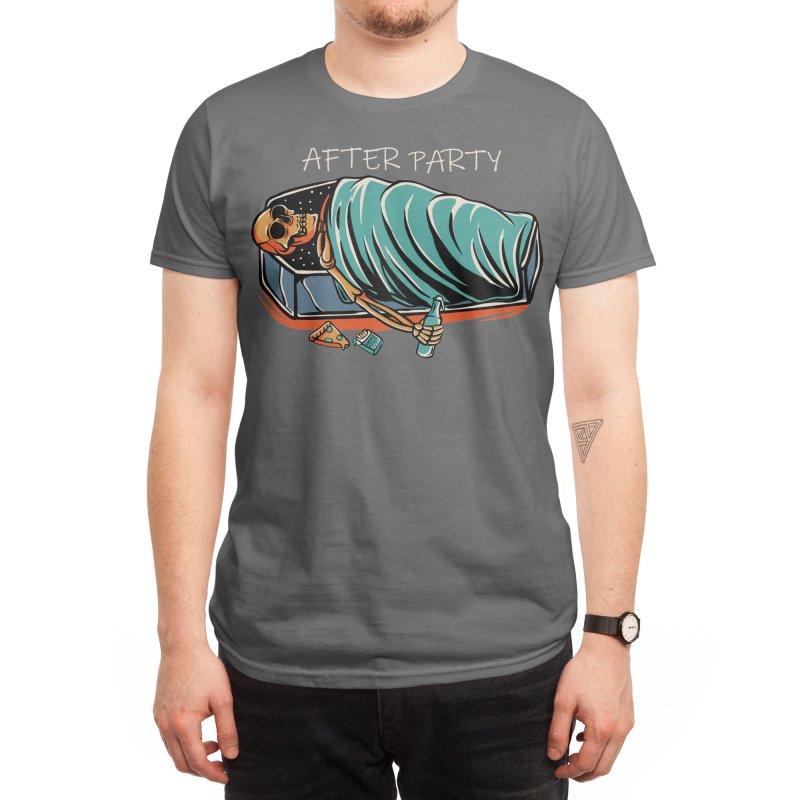 After party Men's T-Shirt by plasticghost's Artist Shop