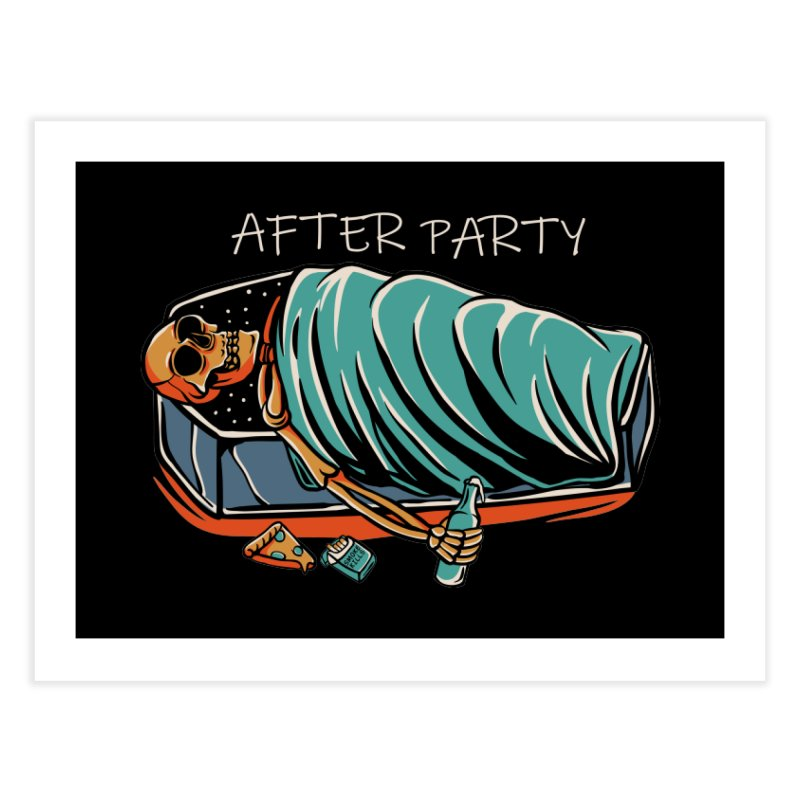 After party Home Fine Art Print by plasticghost's Artist Shop