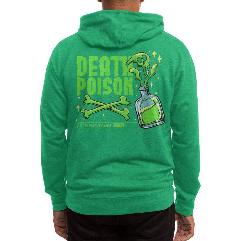 Death Poison Men's Zip-Up Hoody by plasticghost's Artist Shop