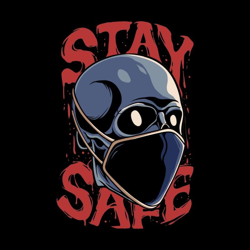 Stay Safe Men's Longsleeve T-Shirt by plasticghost's Artist Shop