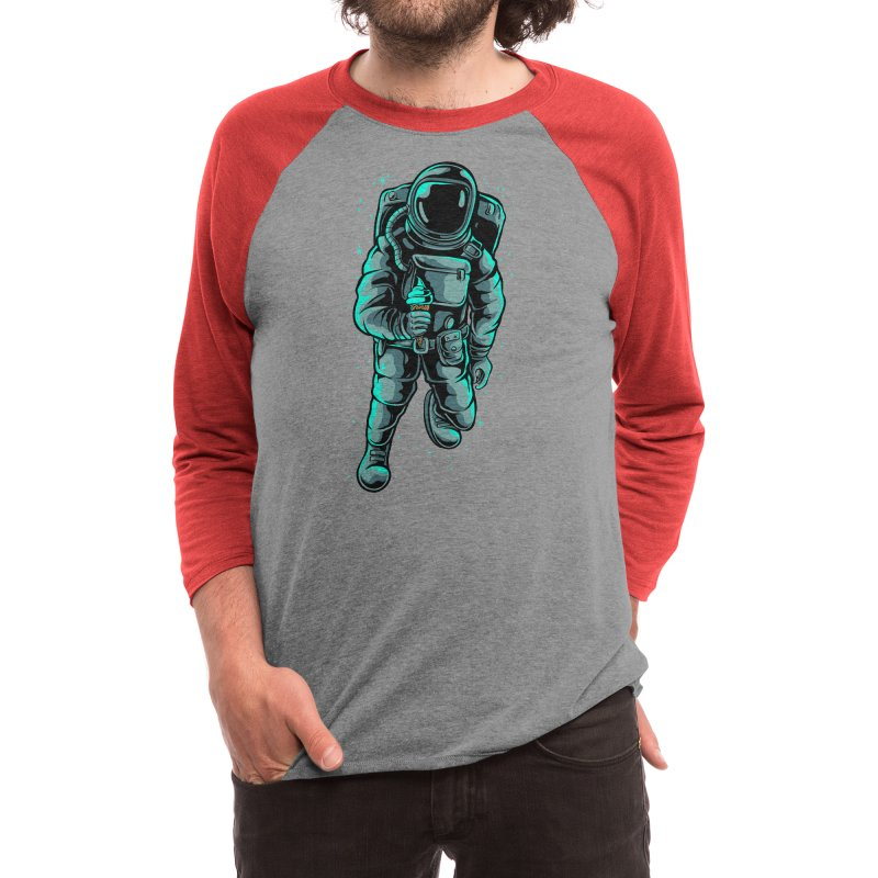 Space cream Men's Longsleeve T-Shirt by plasticghost's Artist Shop
