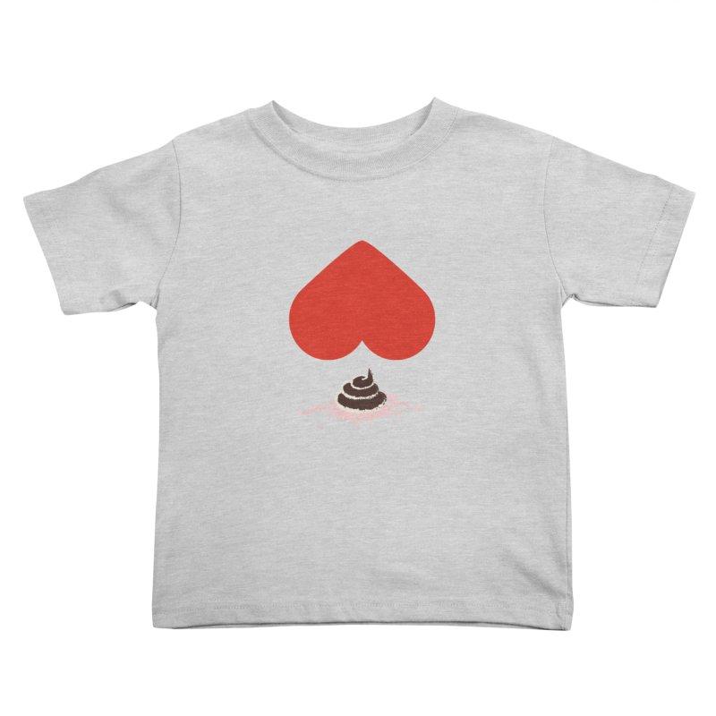 Fruit of Love Kids Toddler T-Shirt by playlab's Artist Shop