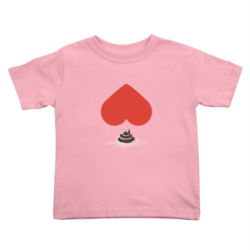 Fruit of Love Kids Toddler T-Shirt by playlab's Artist Shop