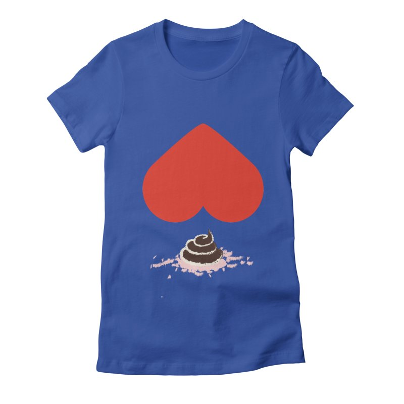 Fruit of Love Women's Fitted T-Shirt by playlab's Artist Shop