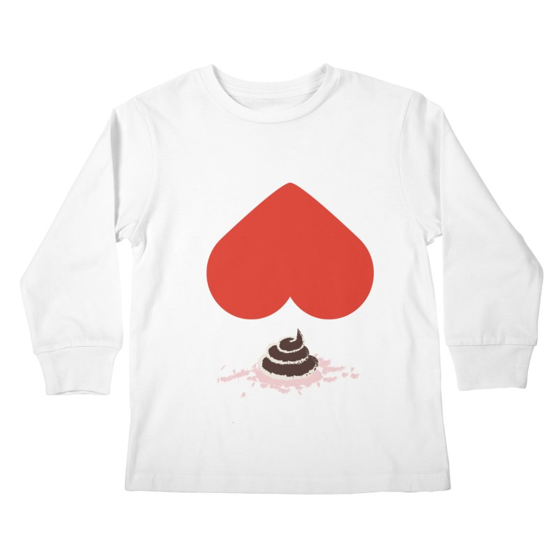Fruit of Love Kids Longsleeve T-Shirt by playlab's Artist Shop