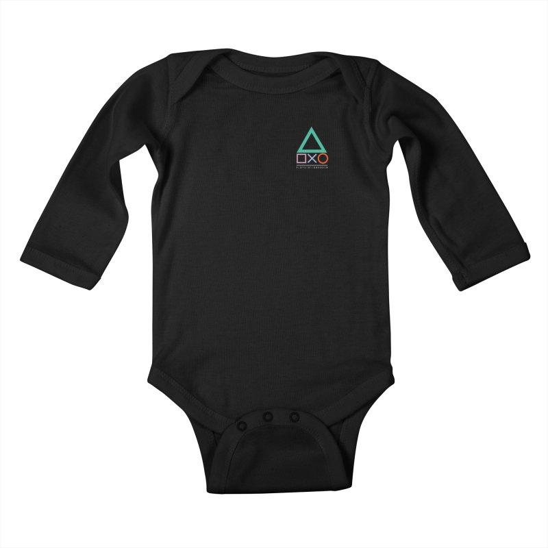 PSH Logo Kids Baby Longsleeve Bodysuit by PlayStation Haven Gear