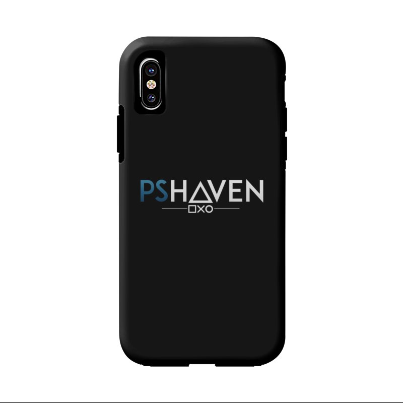PS Haven Logo in iPhone X Phone Case Tough by PlayStation Haven Gear