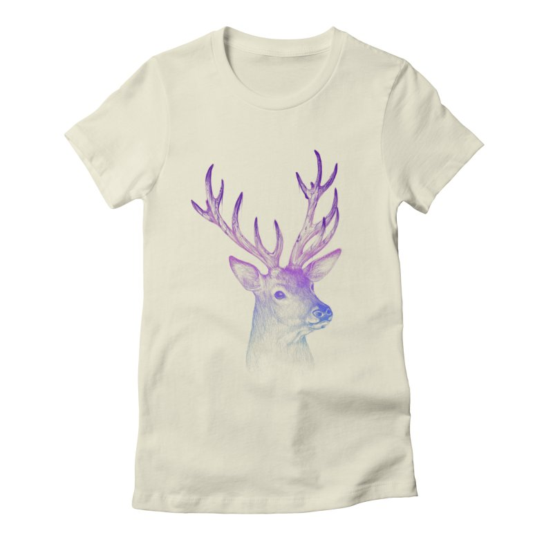 Inked Women's Fitted T-Shirt by plonker's Artist Shop