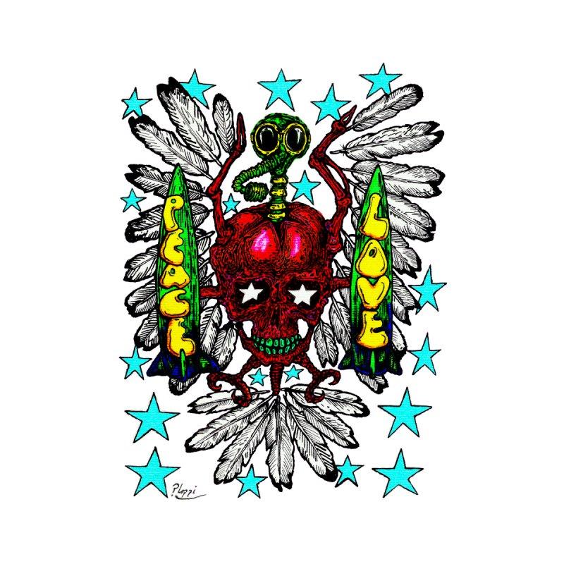 Retro style, anti war gonzo gothic dove original by Ploppi. Men's T-Shirt by Original art by artist Ploppi