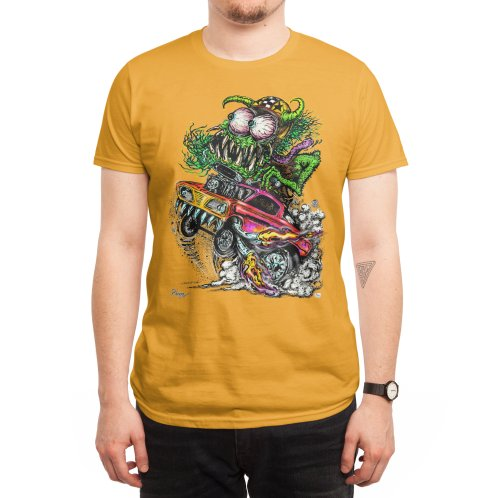 image for 70's style Monster Drag racing