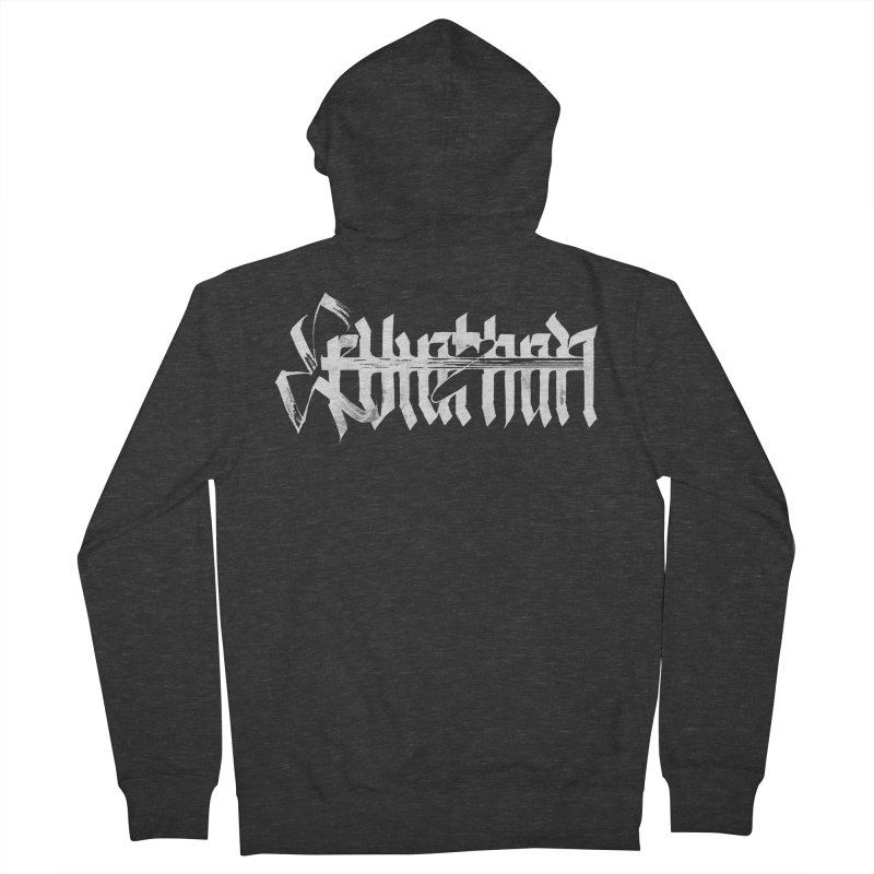 Leviathan White Women's Zip-Up Hoody by pltnk