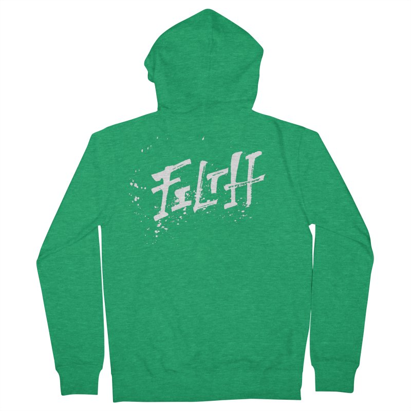 Filth Women's Zip-Up Hoody by pltnk