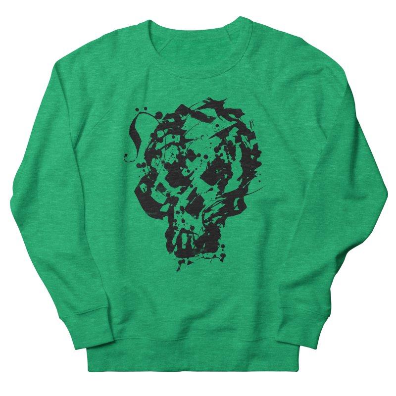 Inky Skull Women's Sweatshirt by pltnk