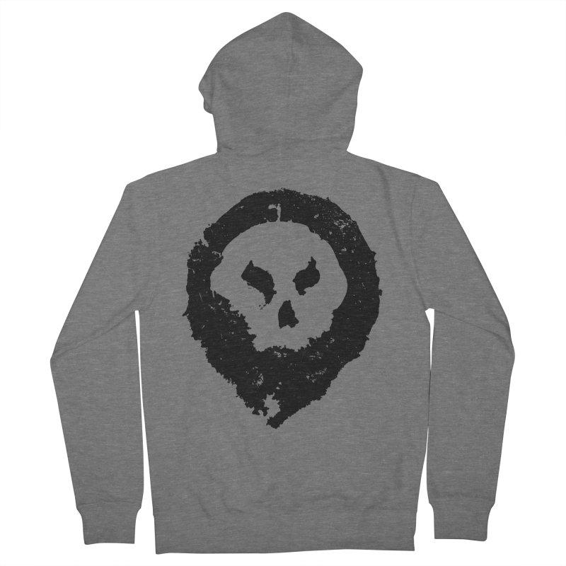 Skull Men's Zip-Up Hoody by pltnk