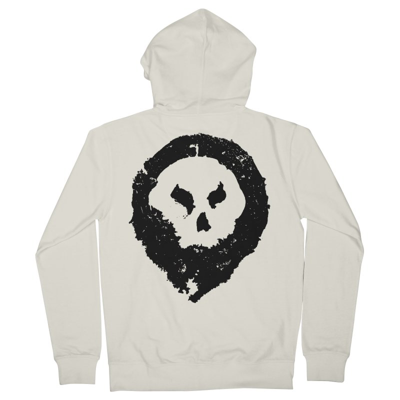 Skull Men's Zip-Up Hoody by pltnk