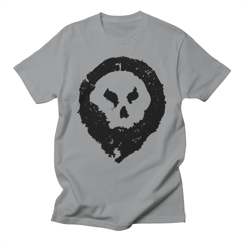 Skull Men's T-Shirt by pltnk