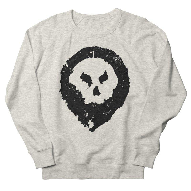 Skull Men's Sweatshirt by pltnk