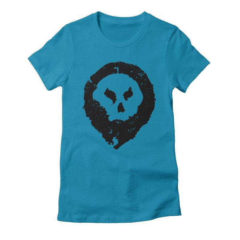 Skull Women's T-Shirt by pltnk