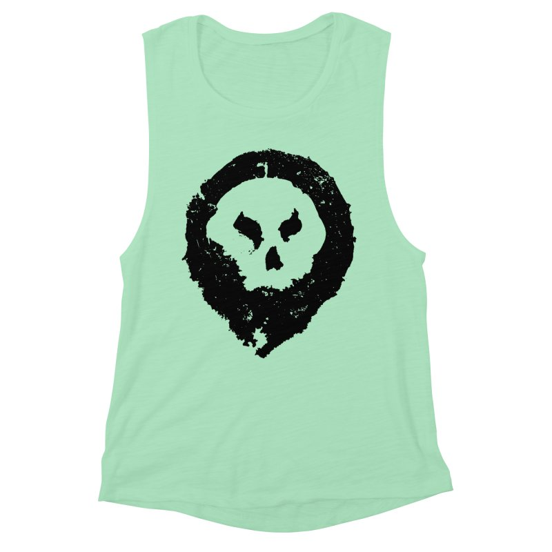 Skull Women's Tank by pltnk