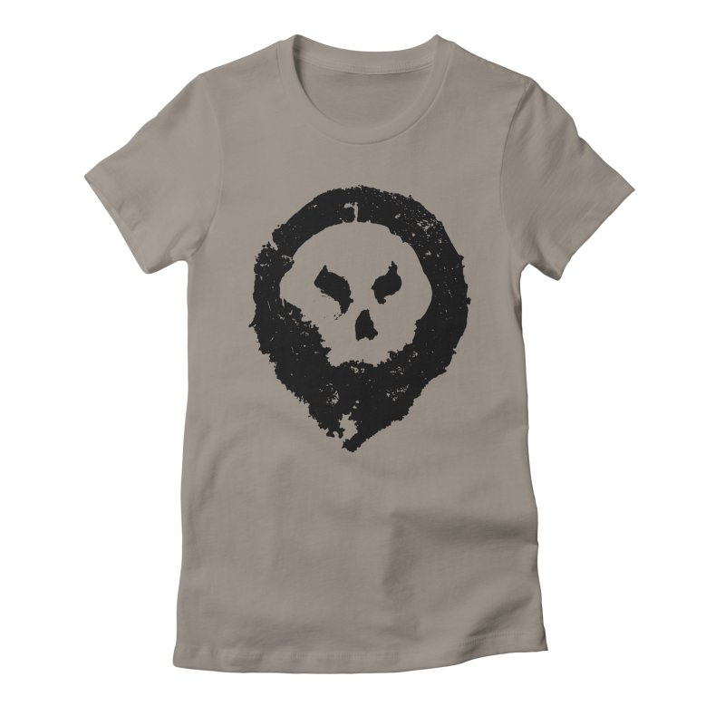Skull Women's T-Shirt by pltnk