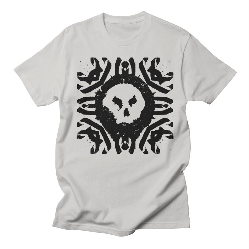 Skull 2 Men's T-Shirt by pltnk