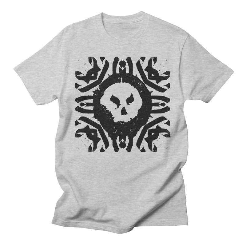 Skull 2 Men's T-Shirt by pltnk