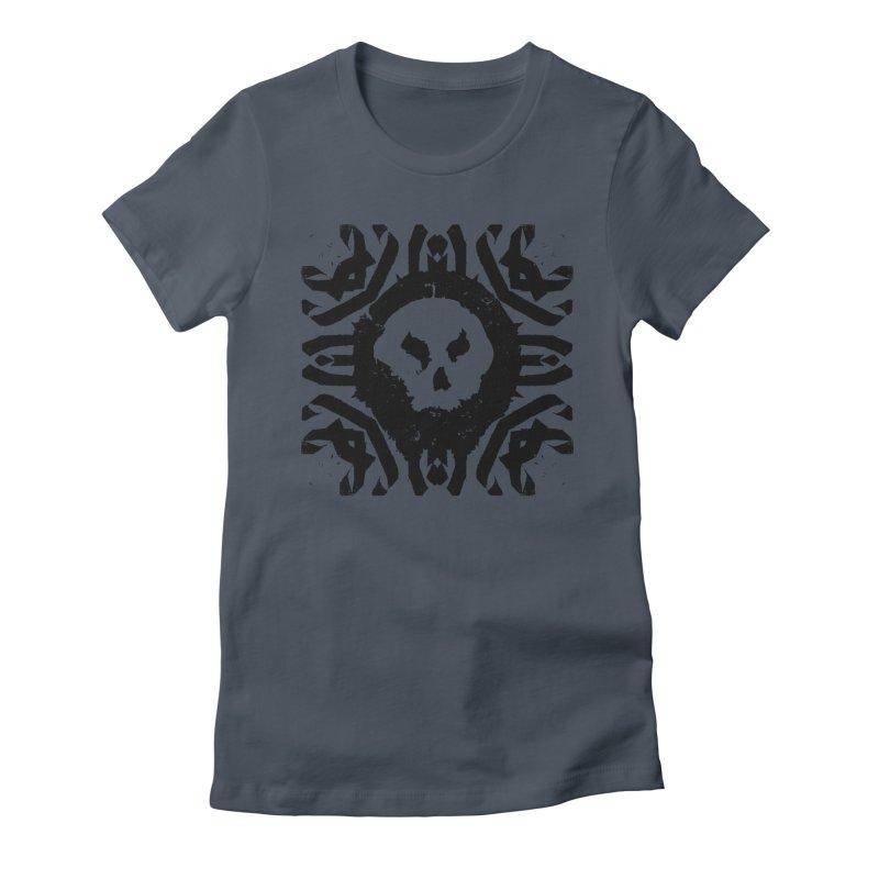 Skull 2 Women's T-Shirt by pltnk