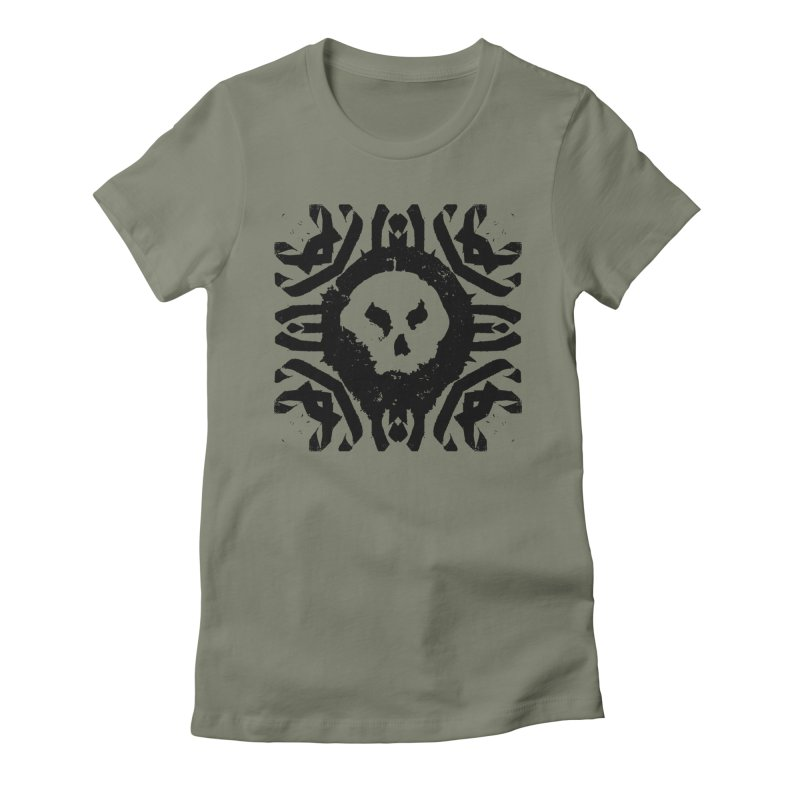 Skull 2 Women's T-Shirt by pltnk