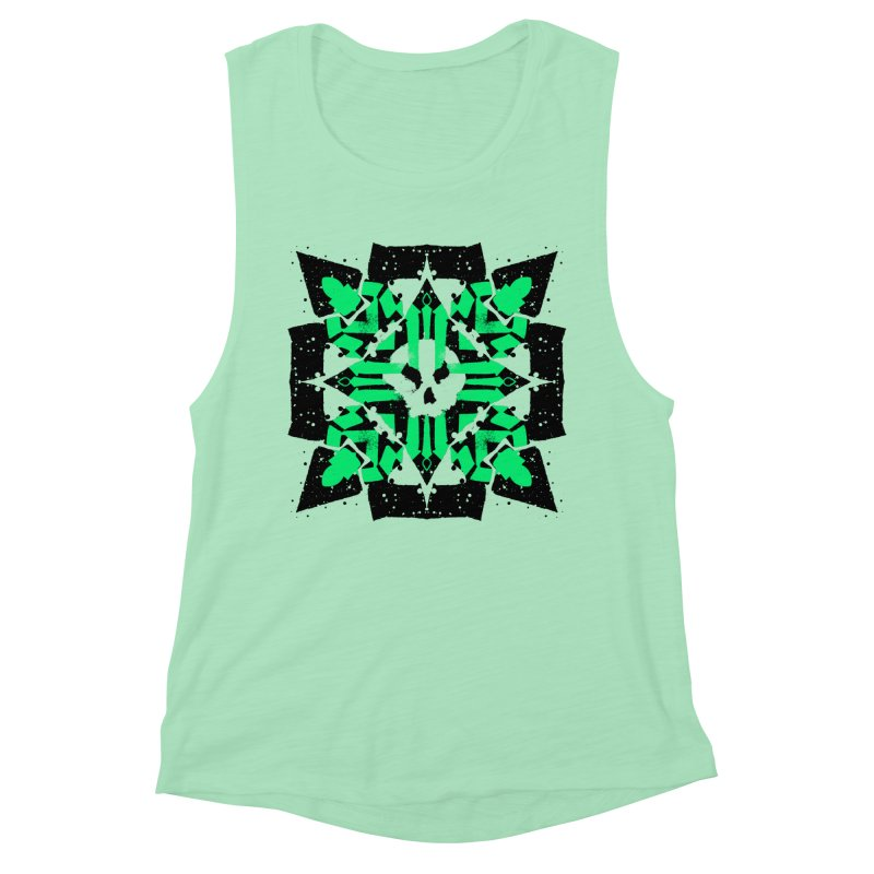 Skull 3 Women's Tank by pltnk