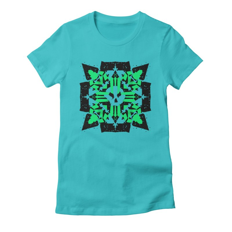 Skull 3 Women's T-Shirt by pltnk