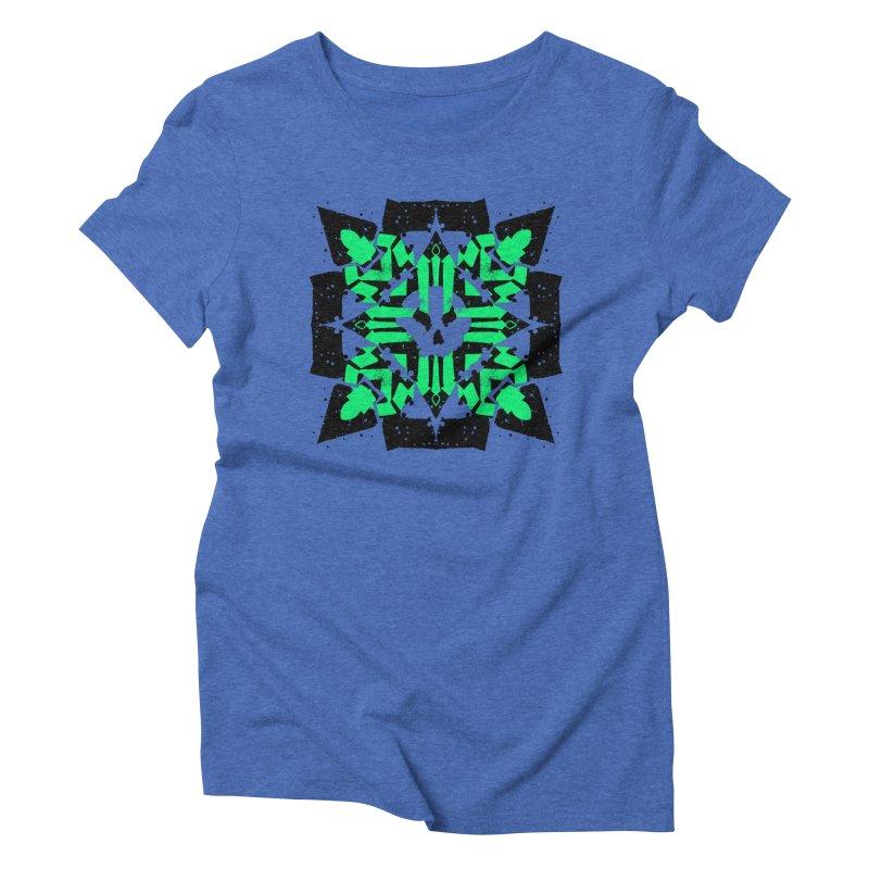 Skull 3 Women's T-Shirt by pltnk