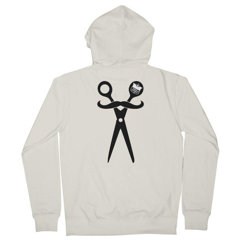 Scissors Men's Zip-Up Hoody by pluko's Artist Shop