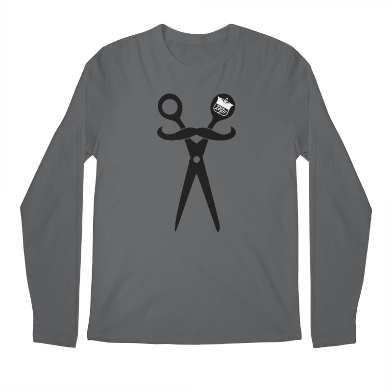 Scissors Men's Longsleeve T-Shirt by pluko's Artist Shop