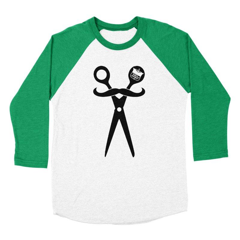 Scissors Women's Baseball Triblend T-Shirt by pluko's Artist Shop